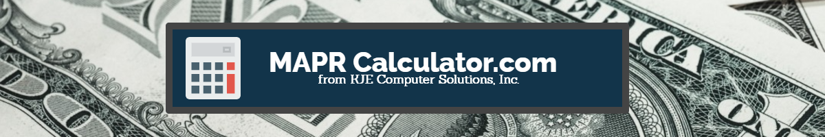 MAPR Calculator Home Page